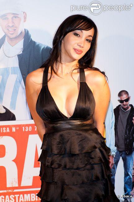 Katsuni lors de l'avant-première du film Les Kaïra à l'UGC Ciné Cité de Bercy à Paris le 18 juin 2012