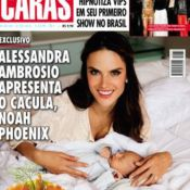 Alessandra Ambrosio présente enfin son fils Noah