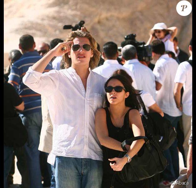 Jean Sarkozy et Mélanie Page