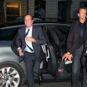 François Hollande au Rond-Point : Valérie Trierweiler le suit... de loin !