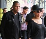 Jay-Z et Beyoncé à New York le 15 avril 2012.