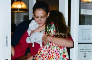 Katie Holmes : Tendres câlins avec Suri avant la bataille judiciaire du divorce
