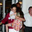 Katie Holmes emmène sa fille Suri déguster une glace à New York le 3 juillet 2012
