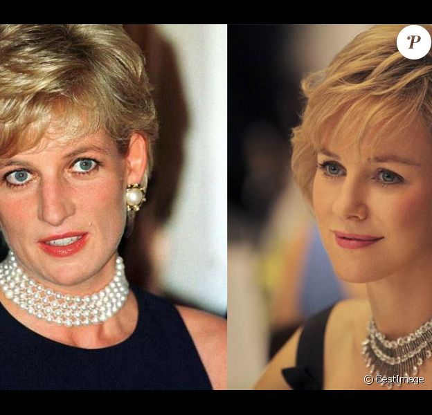 Lady Diana et Naomi Watts (photomontage)