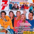 Télé 7 Jours, édition à paraître lundi 9 juillet 2012, contenant une interview de la jeune mariée Marion Jollès.