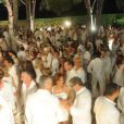 Soirée blanche organisée par le chef Christophe Leroy, aux Moulins de Ramatuelle, le dimanche 8 juillet 2012.