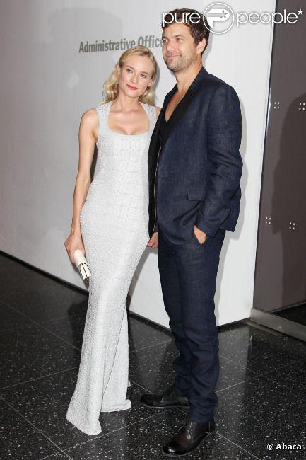 Diane Kruger et Joshua Jackson lors de la présentation à New York du film Les Adieux à la reine le 9 juillet 2012