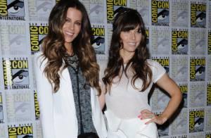 Jessica Biel et Kate Beckinsale : Duo de charme au Comic Con