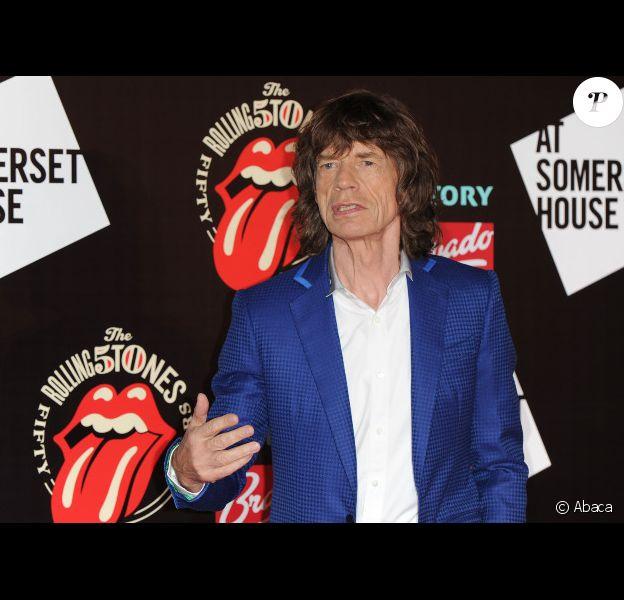 Mick Jagger, le 13 juillet 2012 à Londres.