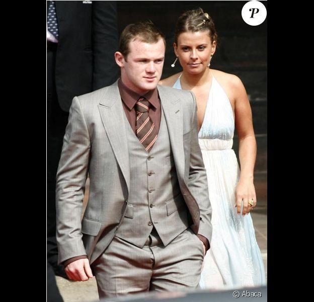 Wayne Rooney et Coleen McLoughlin