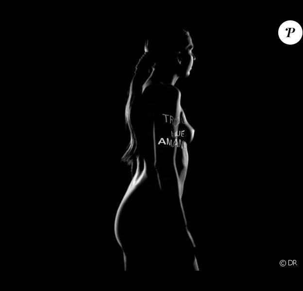 Amandine Bourgeois nue dans le clip interactif d'Incognito (juillet 2012). 90 secondes à fleur de peau créées avec le Studio Lumini.