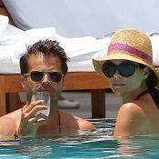 David Charvet et sa sublime Brooke Burke : Câlins à la piscine