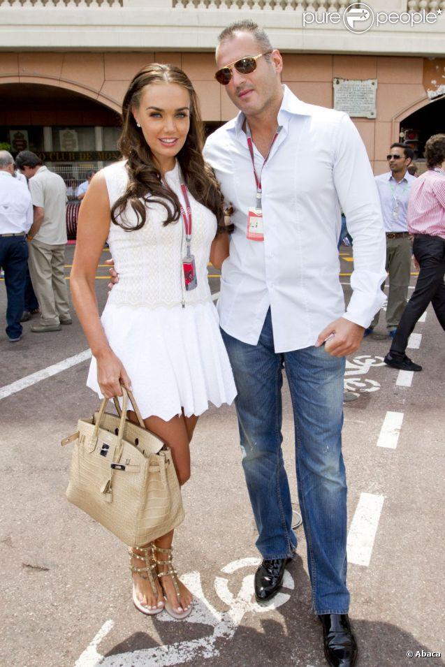 Tamara Ecclestone et Omar Khyami le 28 mai 2012 à Monaco