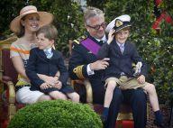 Fête nationale belge : Le roi Albert se décoince, Nicolas et Aymeric dissipés