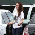 Kristen Stewart s'énèrve après son coach sportif le 18 juillet 2012, quelques jours après avoir eu une aventure avec le réalisateur Rupert Sanders à Los Angeles