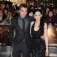 Robert Pattinson et Kristen Stewart en novembre 2011 à Londres.