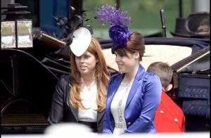 PHOTOS : Les Princesses Eugénie et Beatrice... quel look !