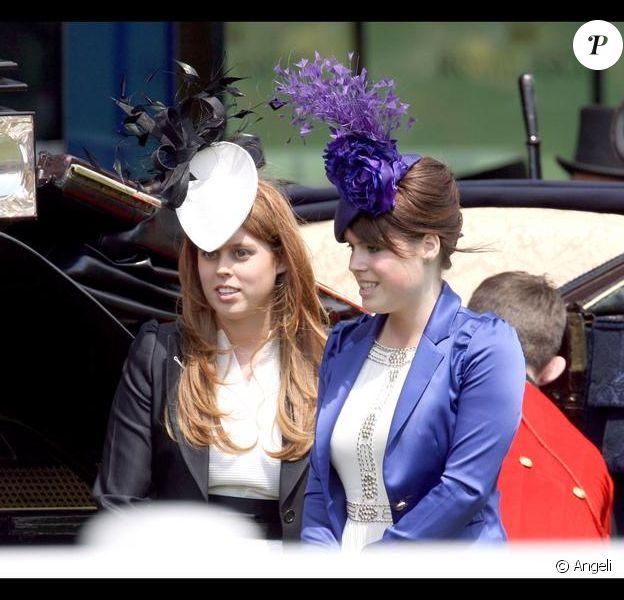 Princesse Eugénie et Beatrice