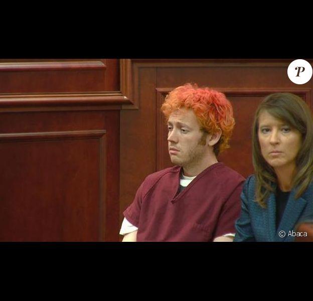 James Holmes, auteur présumé de la tuerie du Colorado, devant la cour le 23 juillet 2012