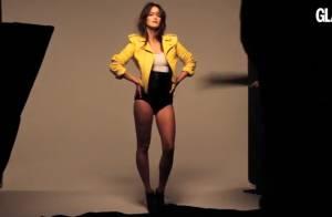 Charlotte Le Bon : L'ex-Miss Météo sublime et sexy lors d'un shooting Glamour