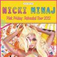 Affiche de la tournée de Nicki Minaj,  Pink Friday : Reloaded Tour 2012