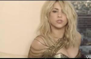 Shakira, très sexy, prête main forte à Pitbull sur le clip Get it Started