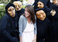 Princesse Marie : Cernée par une bande masquée, elle joue bien la comédie