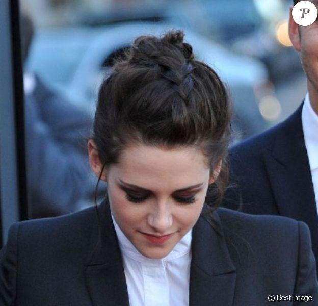 Kristen Stewart, 22 ans, et le réalisateur Rupert Sanders, 41 ans, en mai 2012 à Los Angeles.