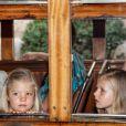 Le 6 août 2012, le prince Felipe et la princesse Letizia, en vacances avec leurs filles les princesses Leonor et Sofia, ont pris le train historique qui relie Palma à Soller.