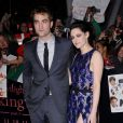 Robert Pattinson et Kristen Stewart en novembre 2011.
