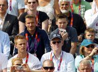 JO 2012, David Beckham et ses fils : Ultimes sensations fortes dans les tribunes