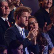 Kate Middleton complice du prince Harry pour son grand moment en clôture des JO