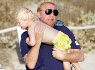 Boris Becker, son épouse Lilly et le petit Amadeus : Balade en mer en famille