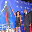 Nick Gordon et Bobbi Kristina lors de l'avant-première du film Sparkle à Hollywood le 16 août 2012