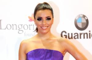 Eva Longoria : Sublime dans sa robe bustier à Marbella