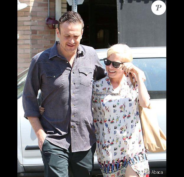Michelle Williams et Jason Segel complices à Los Angeles, le 20 août 2012