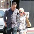 Michelle Williams et Jason Segel à Los Angeles, le 20 août 2012