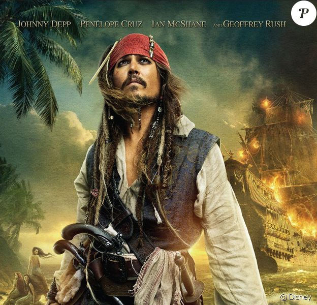 Johnny Depp est Jack Sparrow.