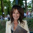 Clémentine Célarié durant la 17e édition de la Forêt des livres à Chanceaux-Près-Loche le 26 août 2012