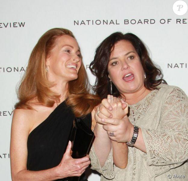 Rosie O'Donnell et Michelle Rounds à New York le 10 janvier 2012.