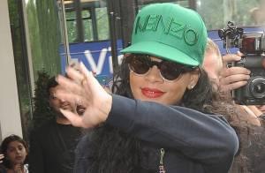 Rihanna : Détendue à Londres avant de défendre ses nominations aux VMA
