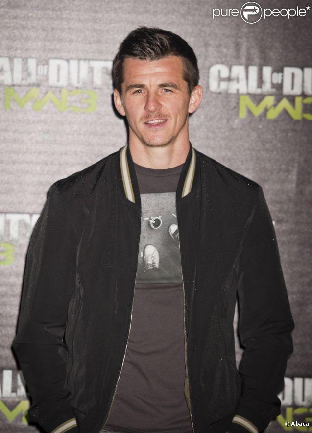 Joey Barton le 7 novembre 2011 à Londres