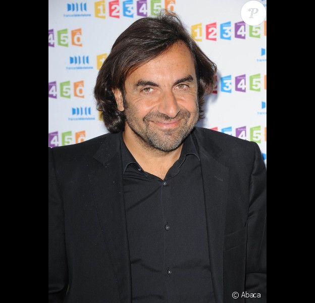 André Manoukian en août 2011 chez France Télévisions