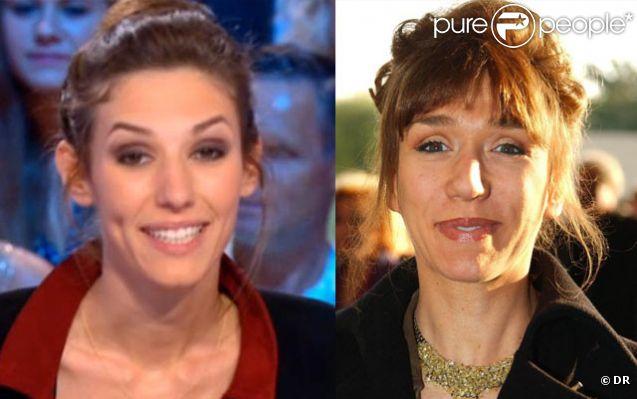 Doria Tillier/Virginie Lemoine : une ressemblance frappante !