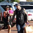 Pink en famille à Malibu, le dimanche 2 septembre 2012.