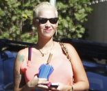 Amber Rose enceinte, à Los Angeles le 2 septembre 2012