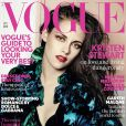 Kristen Stewart en couverture du magazine Vogue, édition UK - octobre 2012