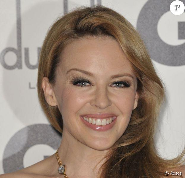 Kylie Minogue lors des GQ Men of the Year Awards à la Royal Opera House. Londres, le 4 septembre 2012.
