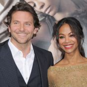 Bradley Cooper : Regards tendres et complices pour la belle Zoe Saldana