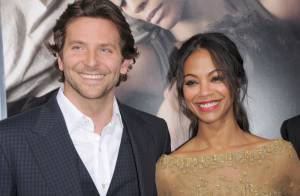 Bradley Cooper : Regards tendres et complices pour la belle Zoe Saldana